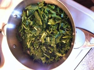 Healthy leafy greens support detoxification